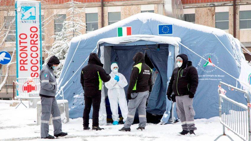 Italia sigue sufriendo por culpa del Coronavirus: Hoy se registraron 919 muertes