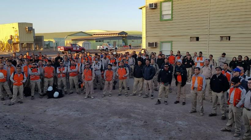 Trabajadores de Minera Spence pausan sus trabajos y piden medidas de prevención contra el COVID-19