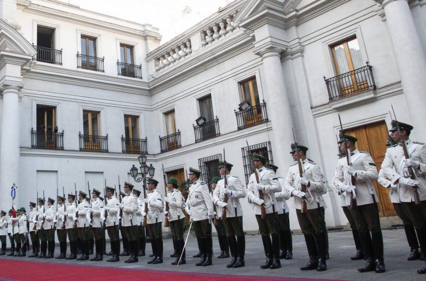 Coronavirus llega a la Moneda