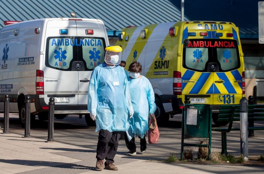 Chile ya llega a los 5.546 contagiados y los fallecidos sube a 48 por el Covid-19