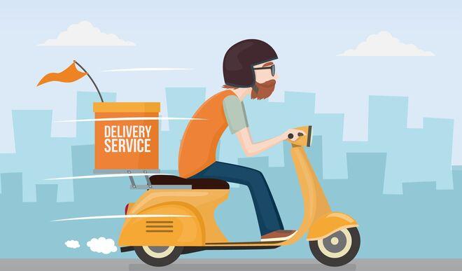Mujer se contagio con Covid-19 tras pedir comida por delivery