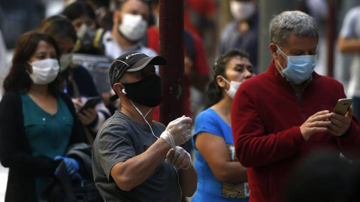 Covid-19: Chile no baja de los mil y registra 1.197 nuevo casos sumando un total de 30.063 contagiados