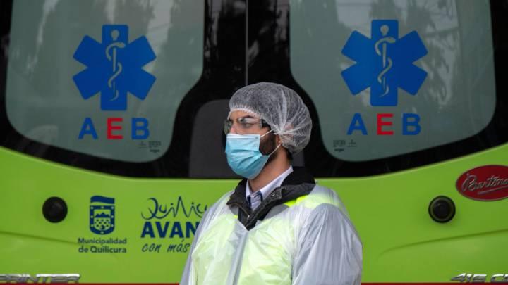 Chile llega a los 82 mil contagiados y muertes por el Covid-19 llega a los 841
