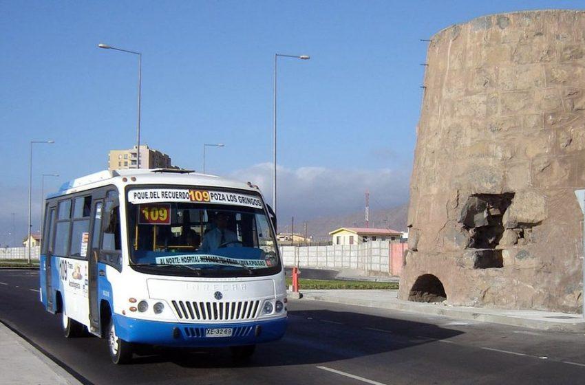Antofagasta: Conductores de la Línea 102 dieron negativo a Covid-19