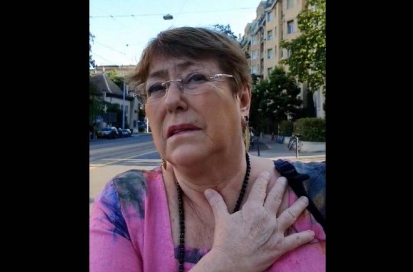 Funan en Suiza a Michelle Bachelet