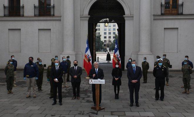 Piñera promulgó este jueves la ley que aumenta las sanciones a las personas que infrinjan las medidas sanitarias