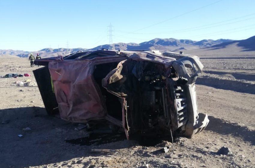Madre e hijo fallecen en fatal accidente en Atofagasta