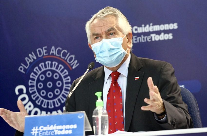 Chile registra 2.475 casos nuevos de Coronavirus
