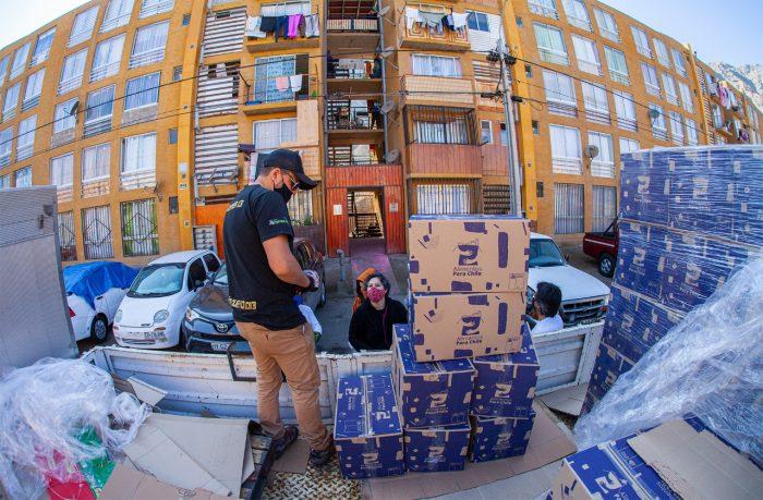 Familias de Tocopilla se verán beneficiada con 6 mil cajas de alimentos