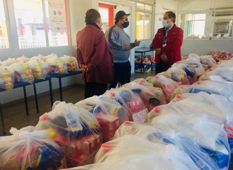 Mineduc distribuirá más de 44 mil canastas de alimentos en la séptima entrega para la región