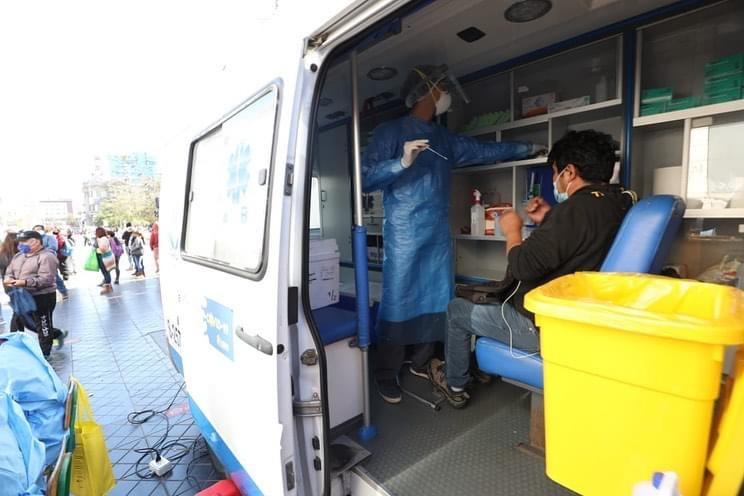 Realizarán toma de PCR en Paseo Prat