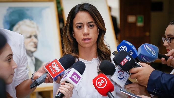 Vicepresidenta de RN asegura tener firmas para acusar a jueza que liberó a Bustamante