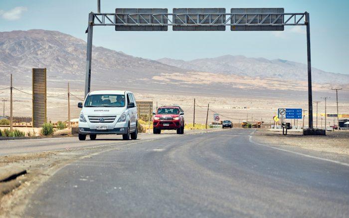 Rutas del Loa inició obras en tramo Carmen Alto-Calama