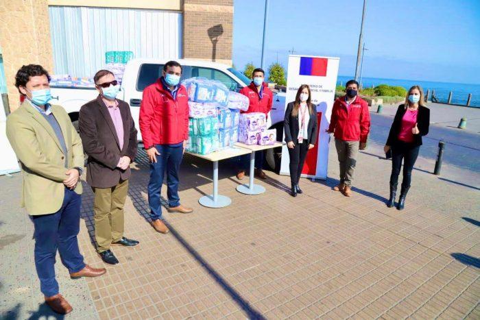 Comunidad Portuaria entrega más de 5 mil pañales para familias vulnerables de Antofagasta