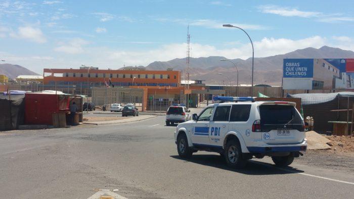 PDI da con los autores del asesinato de un ciudadano boliviano en la cárcel de Antofagasta