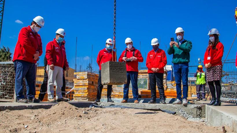Se dio él vamos a la construcción del nuevo Centro de Justicia Juvenil en Antofagasta