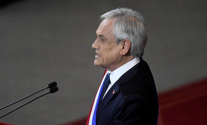 """Piñera sé compromete a realizar un Plebiscito Constitucional """"seguro, transparente y participativo"""""""