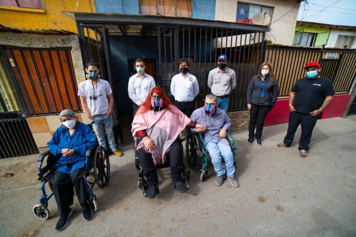 Familias del Senadis de Antofagasta fueron beneficiadas con ayuda en alimentos