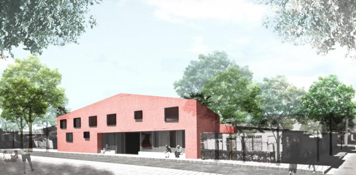 Municipio firma mandato para proyecto de reposición de la hospedería del Hogar de Cristo en Calama