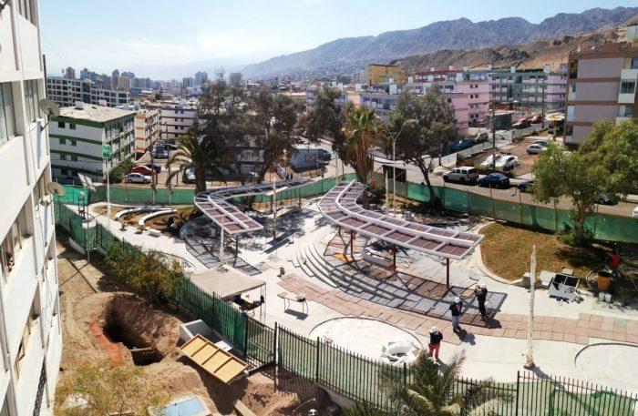 Ejecutan millonaria inversión para renovar el rostro del barrio «Gran Vía» de Antofagasta