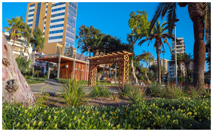 CORE aprueba 2.000 millones de pesos para mantención de parques y áreas verdes en Antofagasta