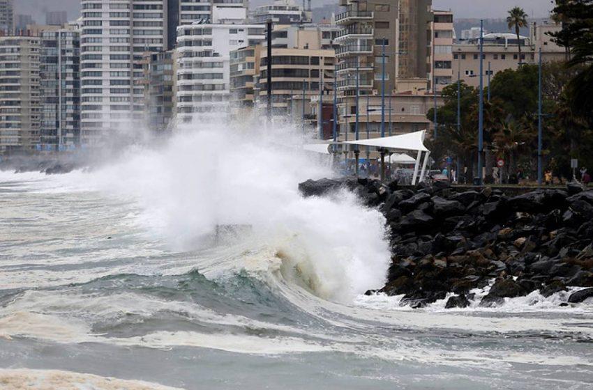 Se esperan marejadas para el norte de Chile