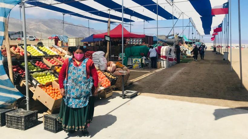 Agricultores de Altos La Portada venderán sus productos en recinto donde desarrollaba la feria de la minería Exponor
