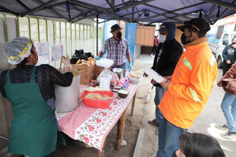 Municipio de Antofagasta entregó fondos a todos los postulantes a ollas comunes