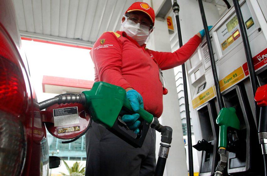 Este jueves suben las bencinas