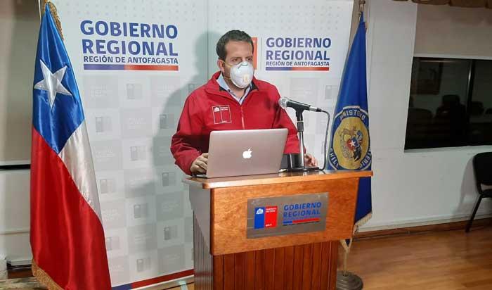 Intendente de Antofagasta pide respeto a la ciudadanía tras las manifestaciones del lunes
