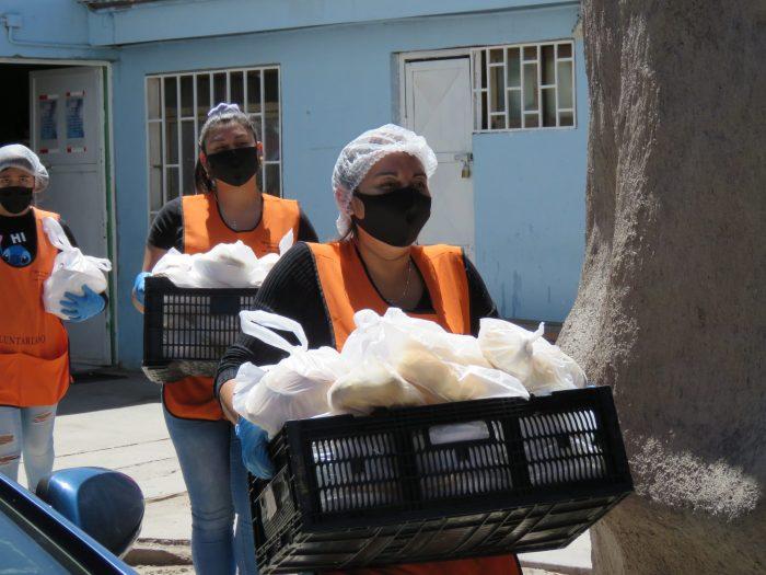 Trabajadores de SQM Salar apoyan comedores solidarios del territorio