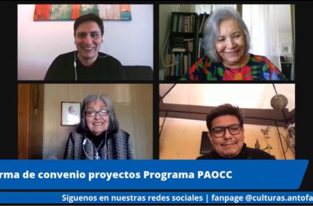 Concretan entrega de recursos a Espacios Culturales de la región de Antofagasta
