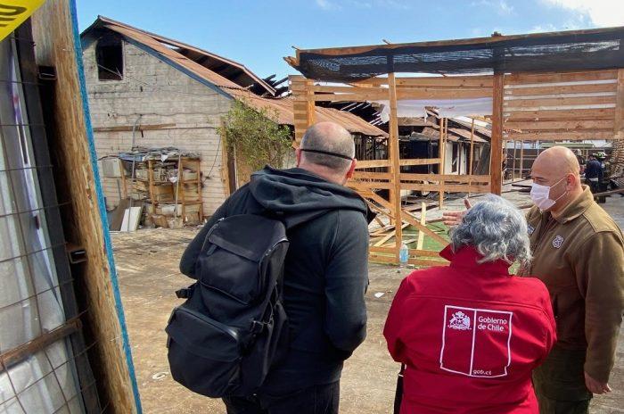 Seremi Gloria Valdés realiza visita inspectiva a casas patrimoniales en Antofagasta