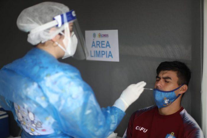 Toman exámenes de PCR al equipo y cuerpo técnico de Deportes Antofagasta
