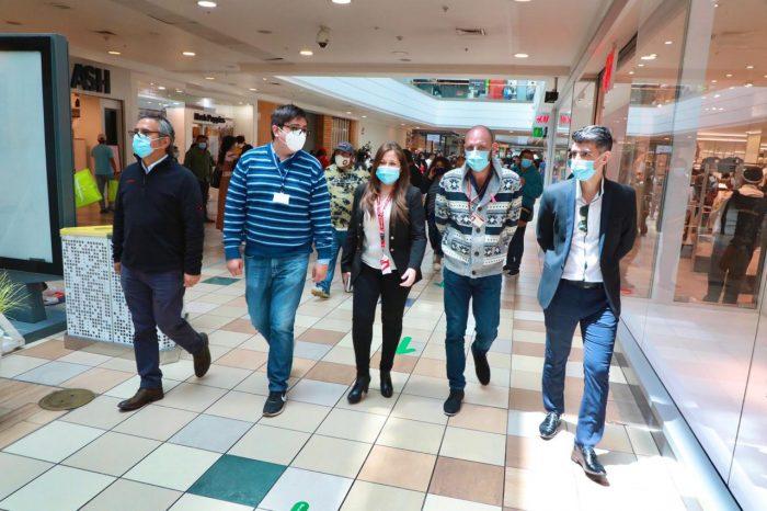 Protocolo Covid: Realizan visita inspectiva a Mall Plaza Antofagasta