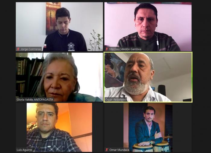 Seremi Gloria Valdés sostiene diálogo con representantes de la Asociación Gremial de Trabajadores de las Artes y Espectáculos