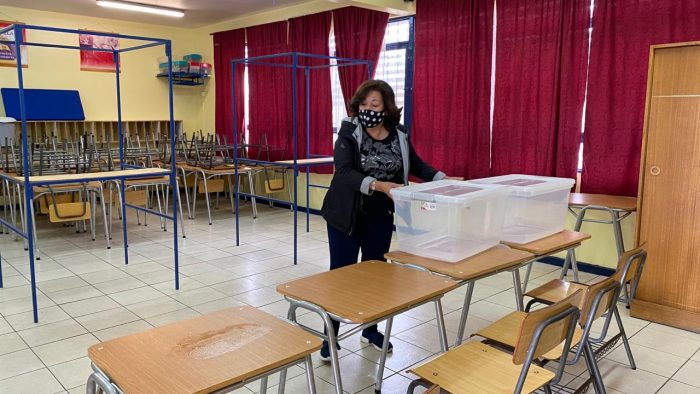 Escuelas y Liceos de Antofagasta están listos para albergar el Plebiscito