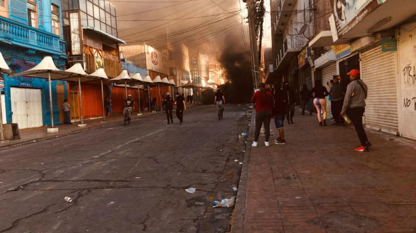 Enfrentamiento se registran en distinto sectores de Antofagasta