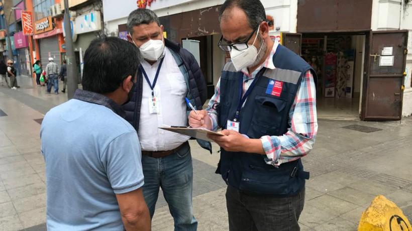 Seremia de salud realizó 41 sumarios en primera jornada de cuarentena en fase 2 en Antofagasta