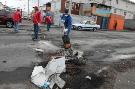 Conmemoración del estallido social en Antofagasta terminó el día de ayer con 40 detenidos y 5 funcionarios lesionados