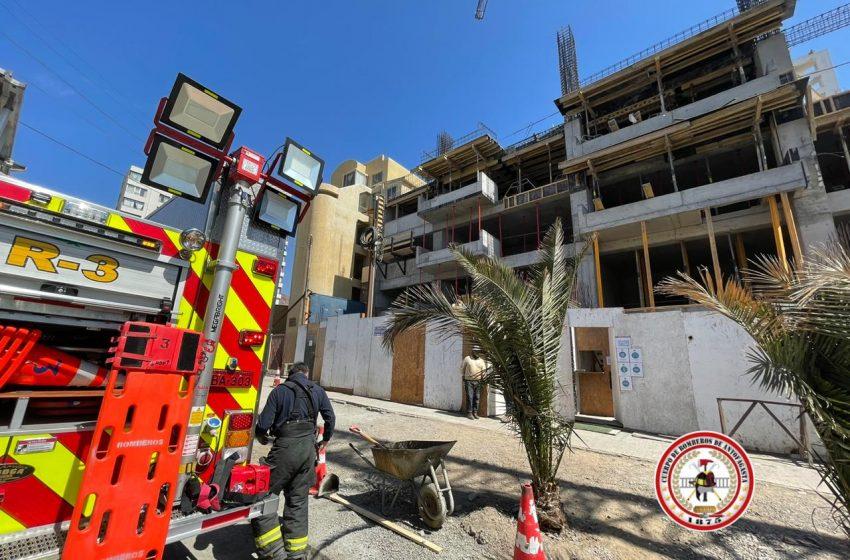 Lamentable: Hombre de 46 años fallece tras caer de un tercer piso en antofagasta