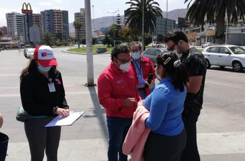 Funcionaria de la Seremi de Salud fue agredida física y verbalmente en Antofagasta
