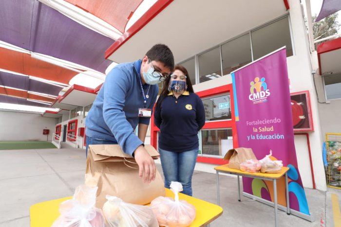 Más de 17 mil niños de Educación Parvularia recibieron canastas de alimentos en Antofagasta