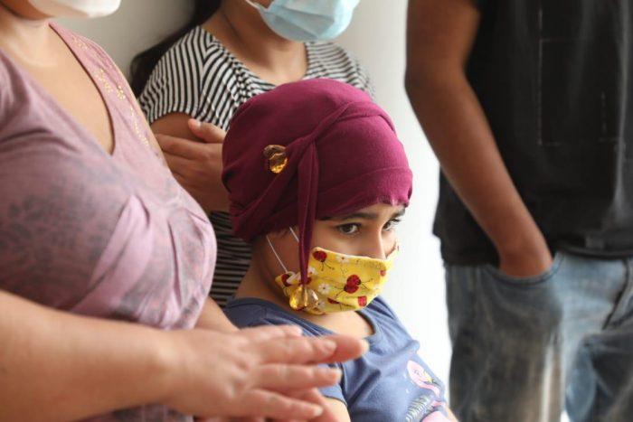 Niña de Antofagasta  requiere de insumos médicos para su lucha contra el cancer