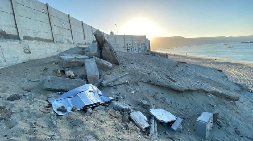 Inician las investigaciones tras la muerte de un hombre en playa de la comuna Mejillones