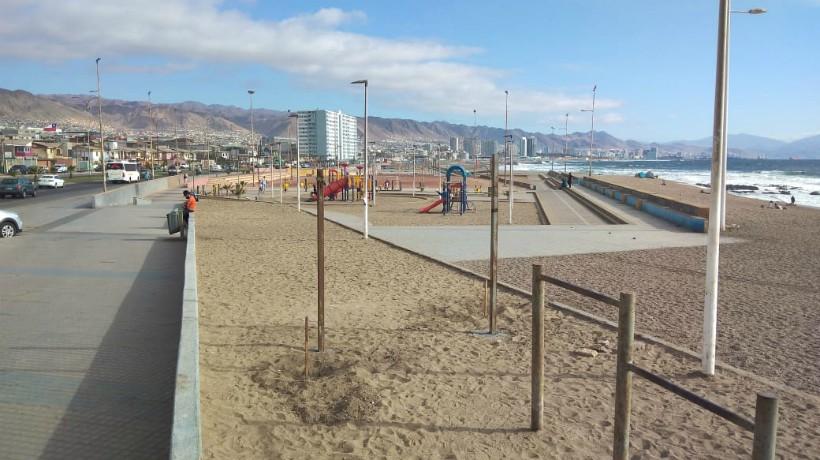 Ejecutarán proyecto en parque Los Pinares de Antofagasta: Obras consideran la remodelación de la cancha de fútbol
