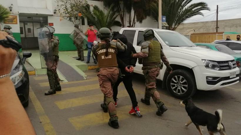 Detienen acusado de homicidio cometido en el sector norte de Antofagasta