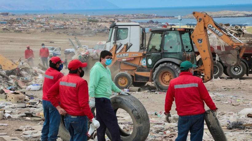 Municipalidad de Antofagasta retiró más de 300 toneladas de escombros