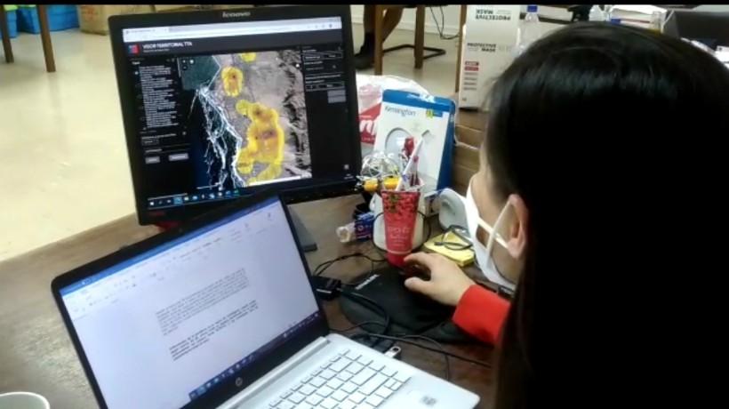 Con novedoso software logran identificar zonas con más casos asintomáticos: Comenzaron con la región en Anfofagasta