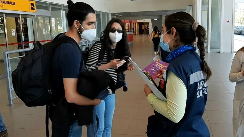 1.500 viajeros han sido monitoreados por la Seremia de Salud